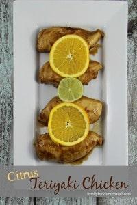 citrus teriyaki chicken