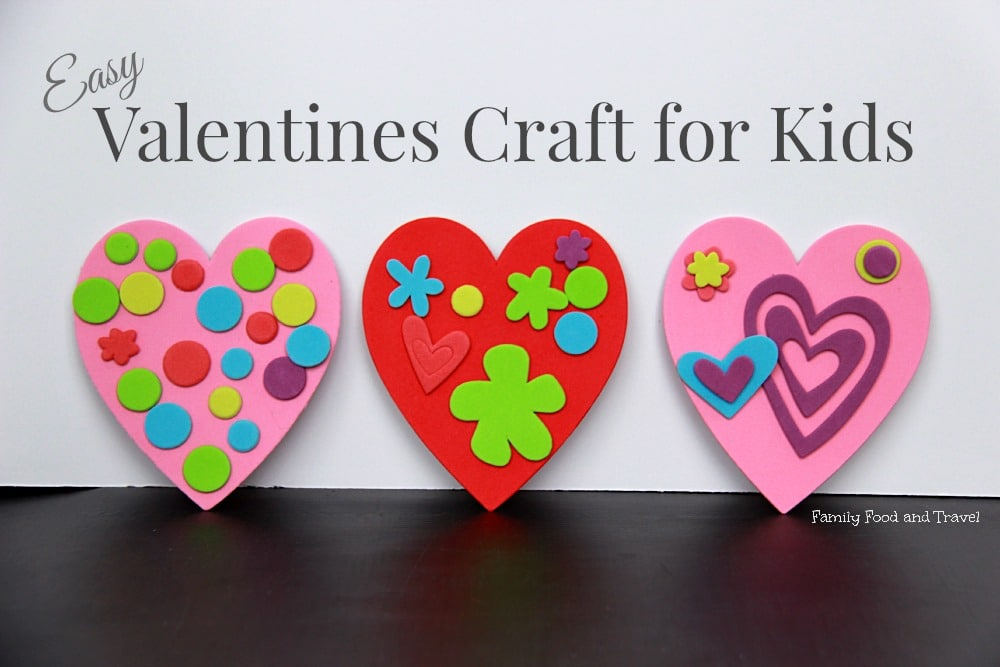 Easy Valentines Craft for Kids