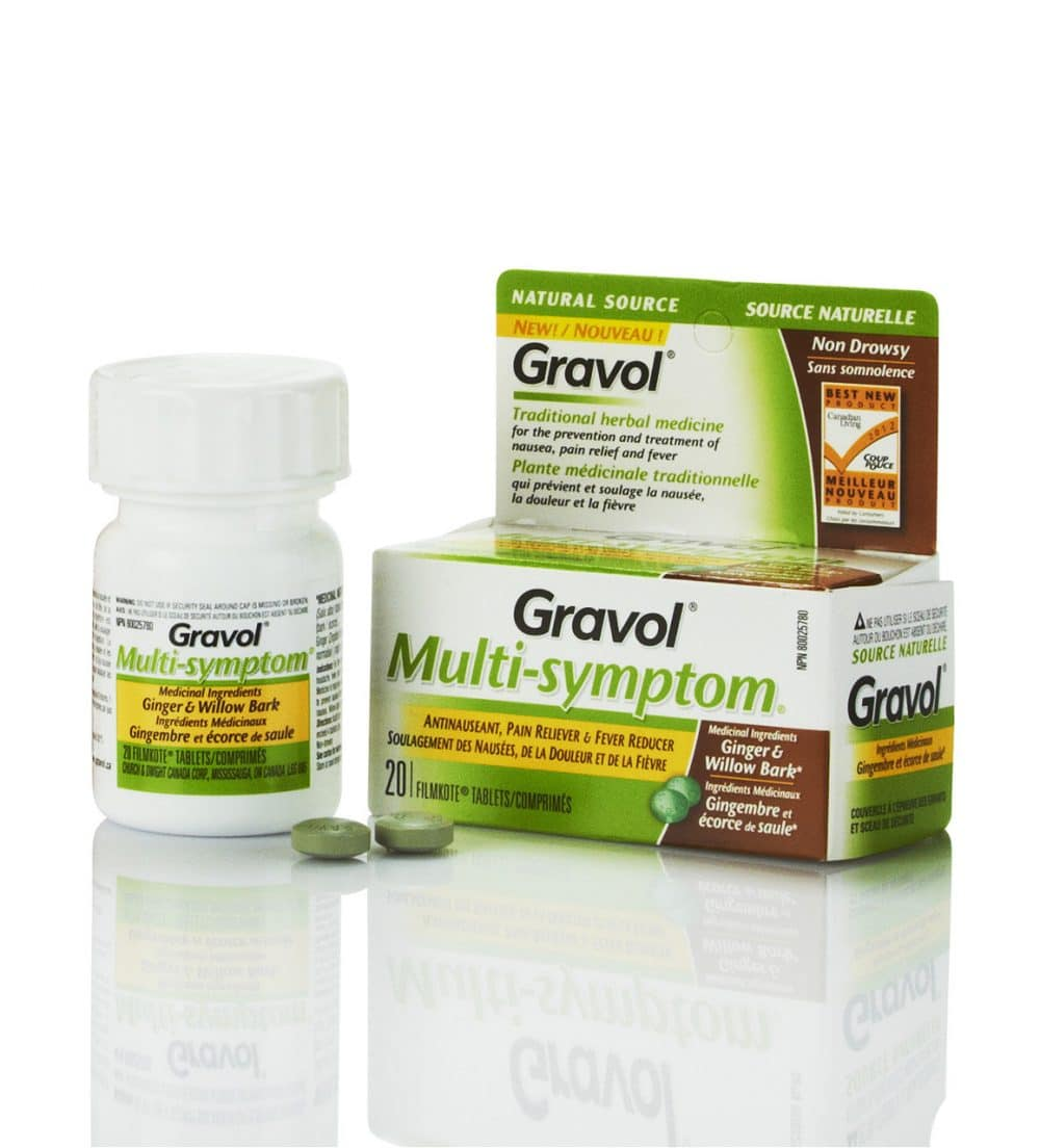 It's Cold and Flu Season and Gravol Multi-Symptom can help!