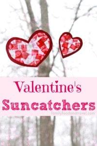 valentines suncatchers