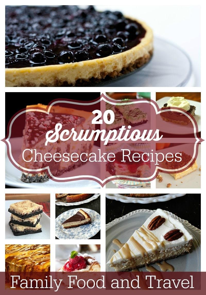 20 cheesecakes