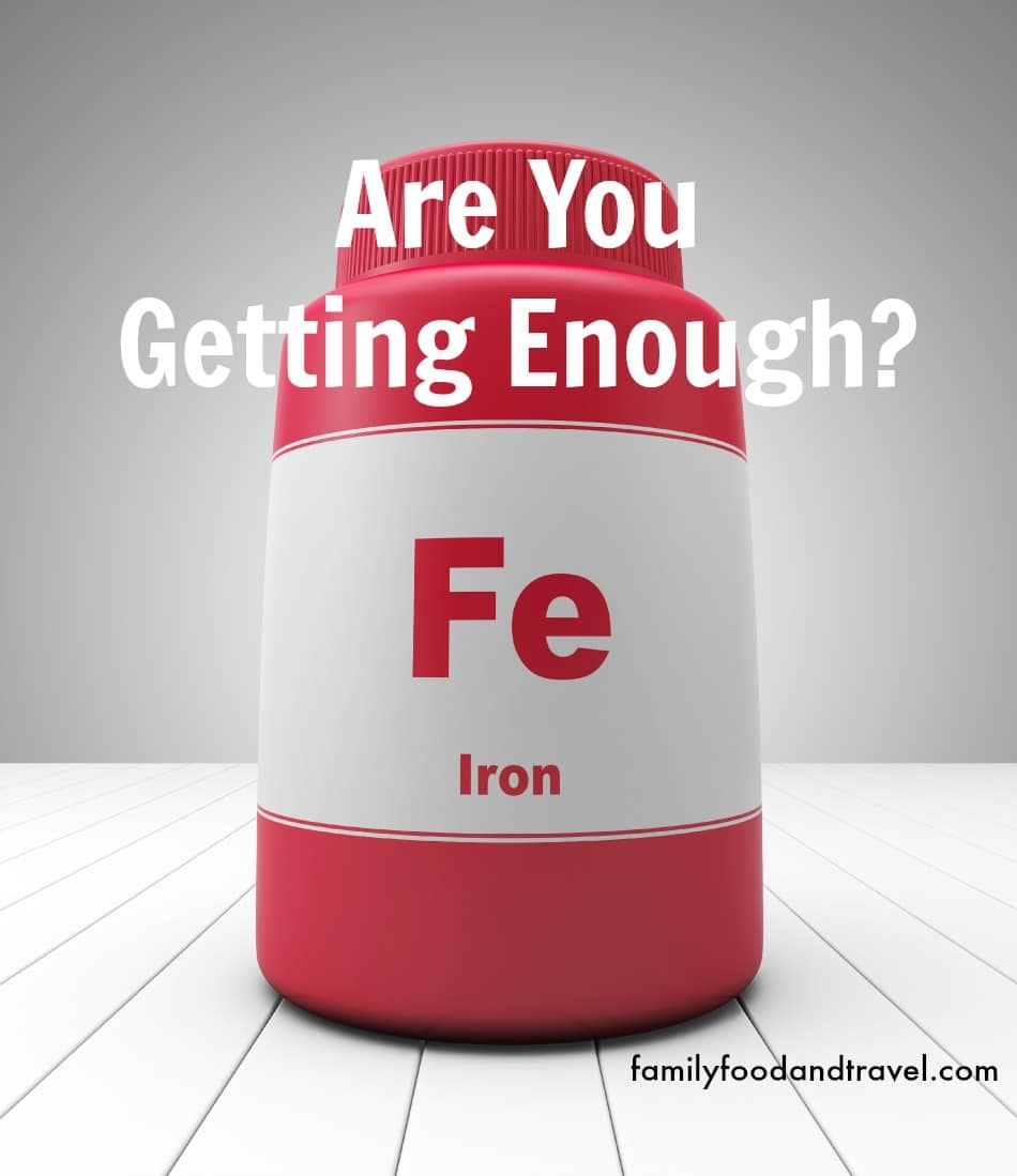 Are You Getting Enough Iron? #IronDeficiency