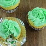 St. Patrick's Day Leprechaun Treasure Cupcakes