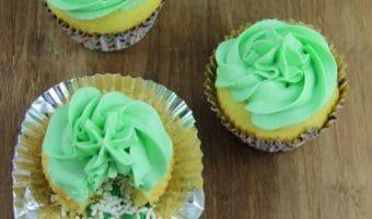 St. Patrick's Day Leprechaun Treasure Cupcakes