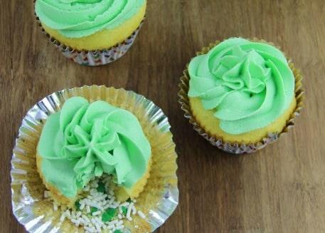Leprechauns Treasure Cupcakes