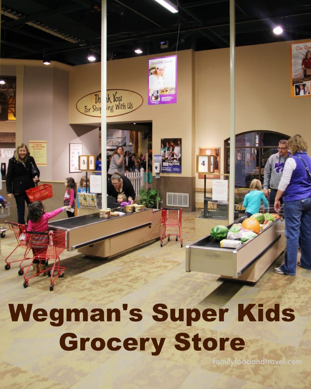 Wegmans Super Kids Grocery Store Museum of Play