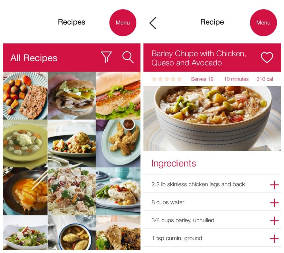 Easy Meal Planning with the Chicken.ca Shopping App #chickendotca