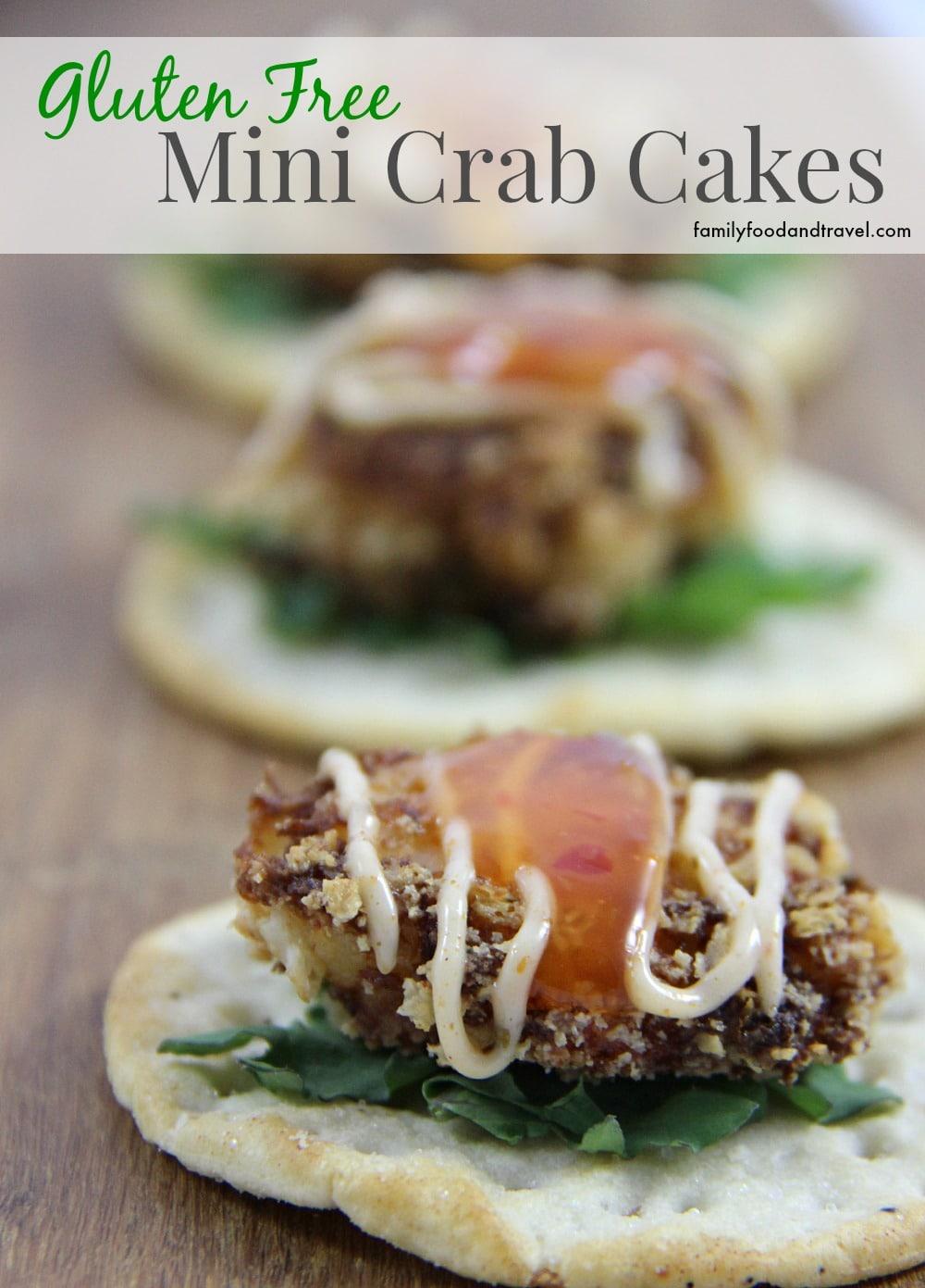 Gluten Free Mini Crab Cakes