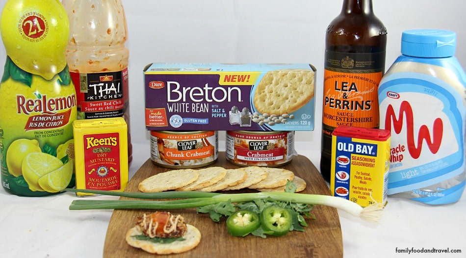 Gluten Free Mini Crab Cakes ingredients