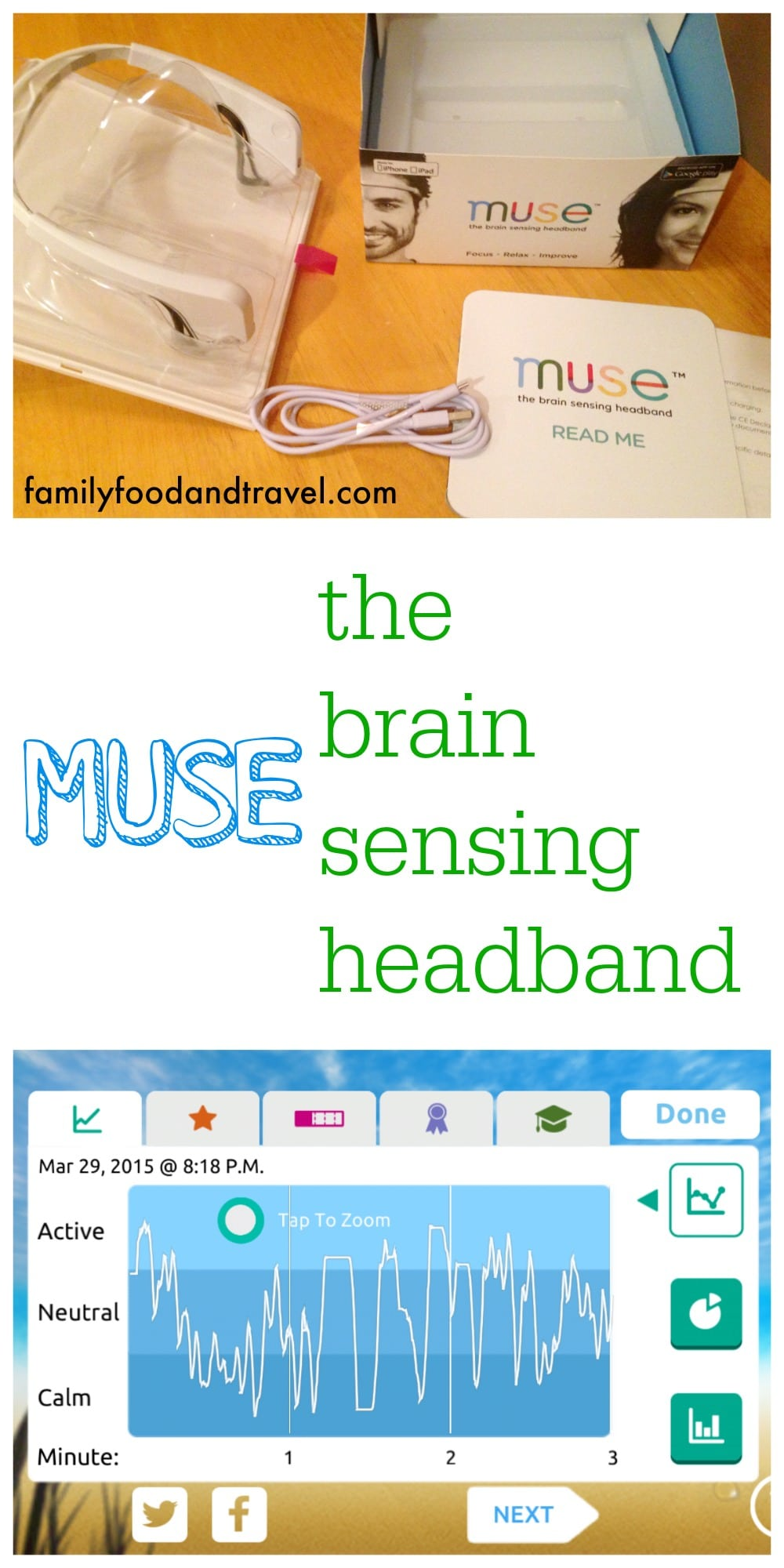 Training My Brain with Muse the Brain Sensing Headband