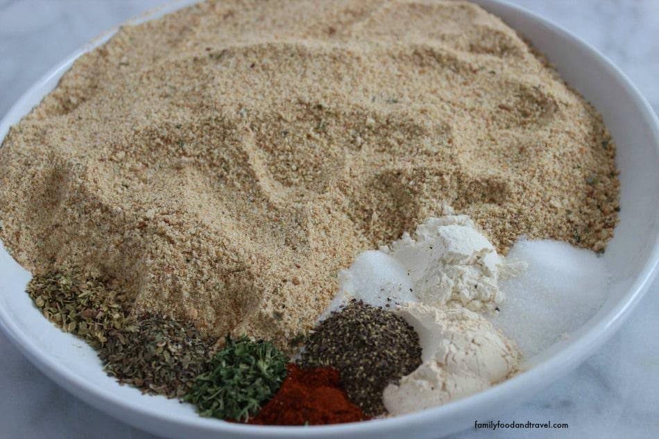 Shake n' Bake mixture
