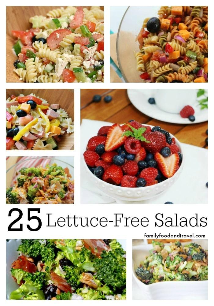 25 Lettuce Free Salads