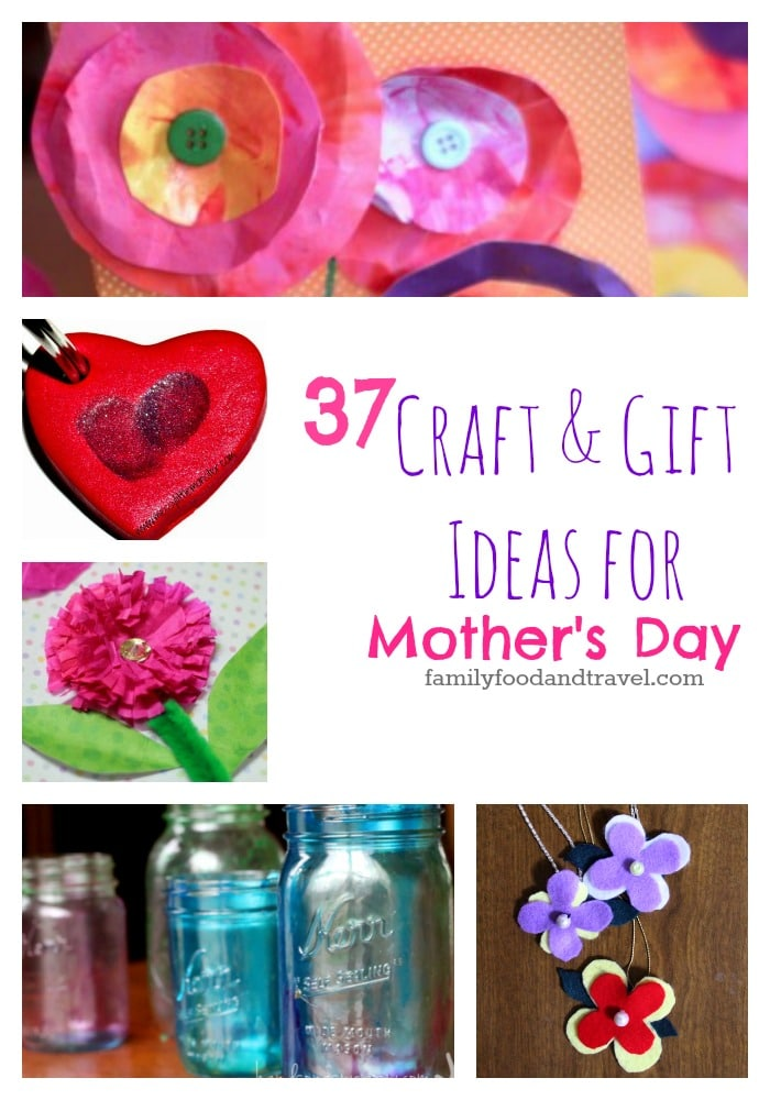 37 mothers day crafts and gift ideas family food and travel for Craft gifts for mom