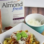 Chicken Bolognese and Coco-Nutty Orange Smoothie #AlmondFresh