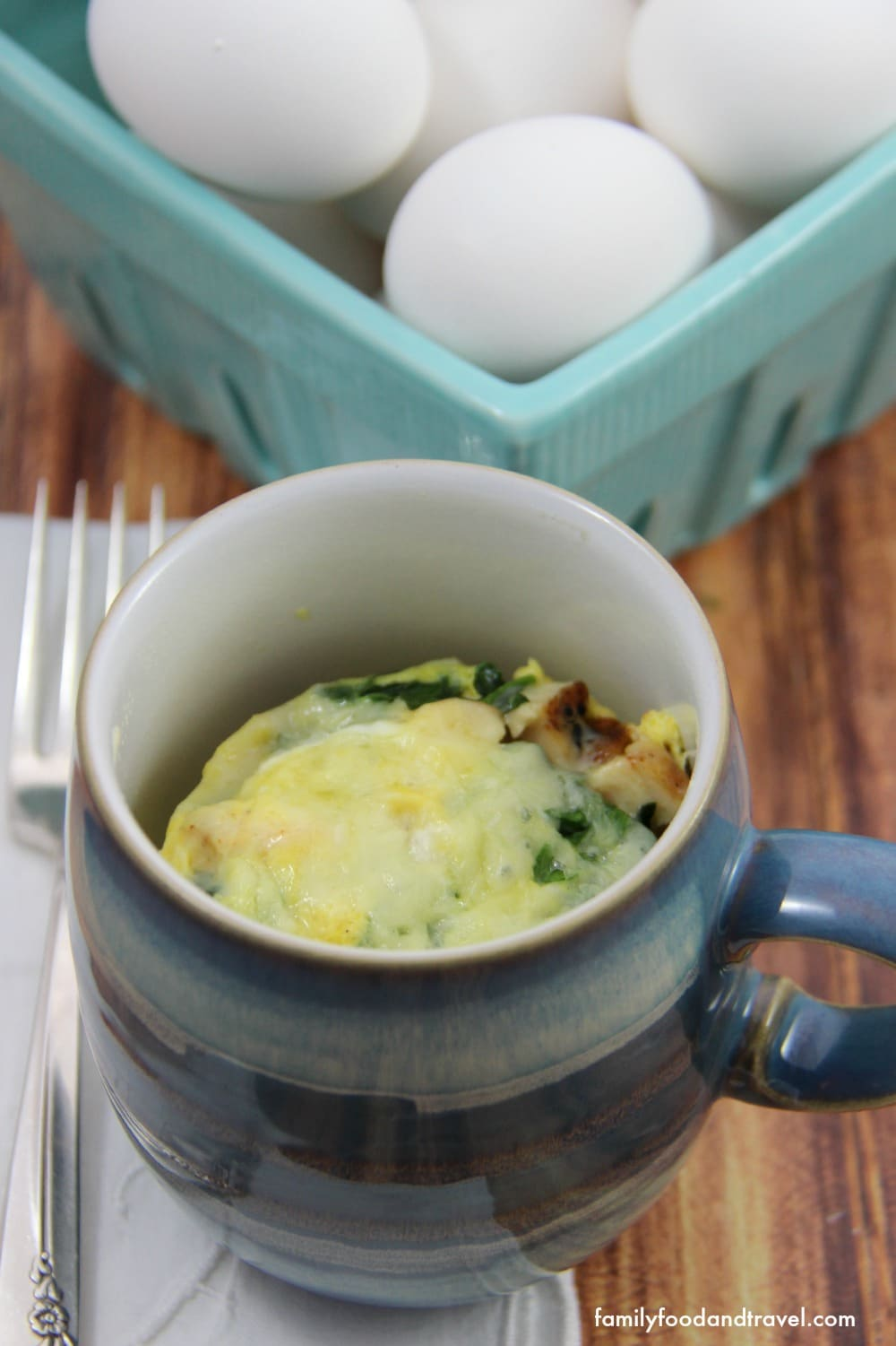 Chicken and Egg Breakfast Mug