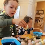 Making Memories with Easter Eggs