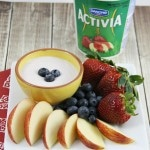 4 Ingredient Yogurt Fruit Dip Recipe #ActiviaChallenge