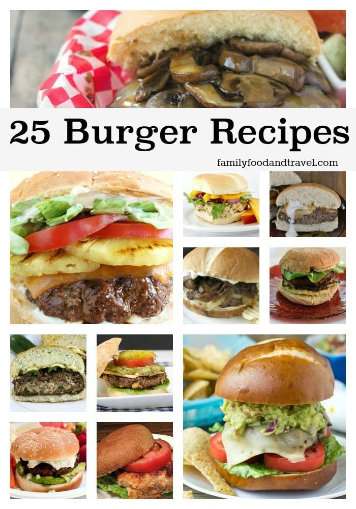 25 Beautiful Burger Recipes