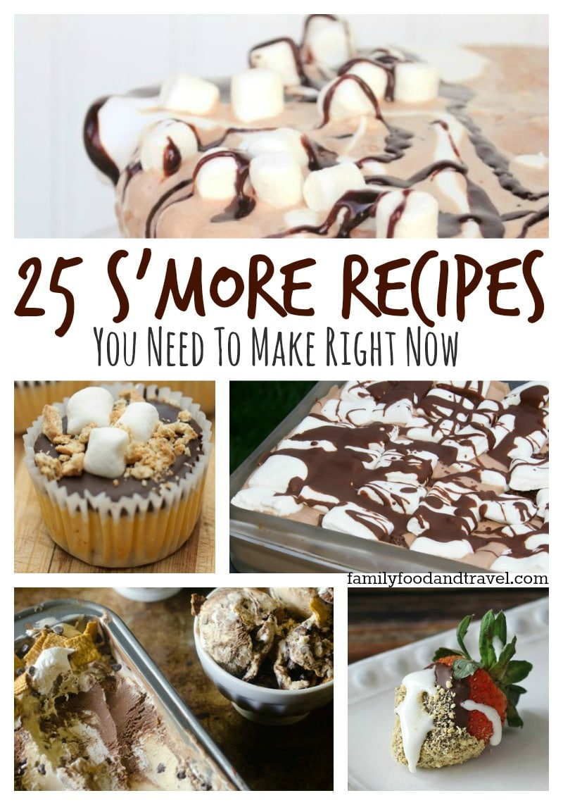 25 Smore Recipes