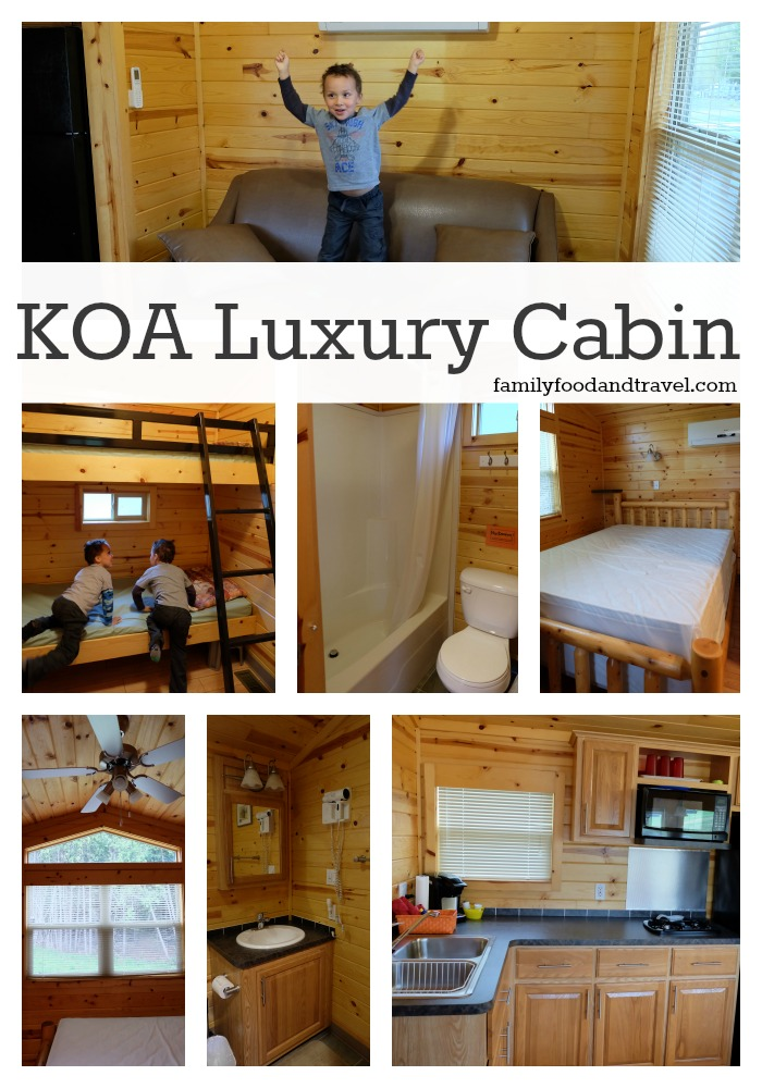 KOA Luxury Cabin