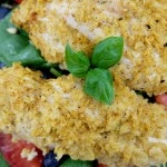 Lime Tortilla Crusted Baked Chicken