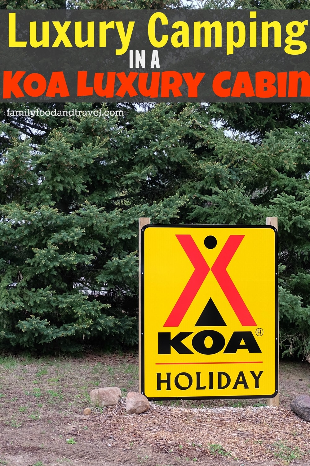 Luxury Camping KOA Luxury Cabin