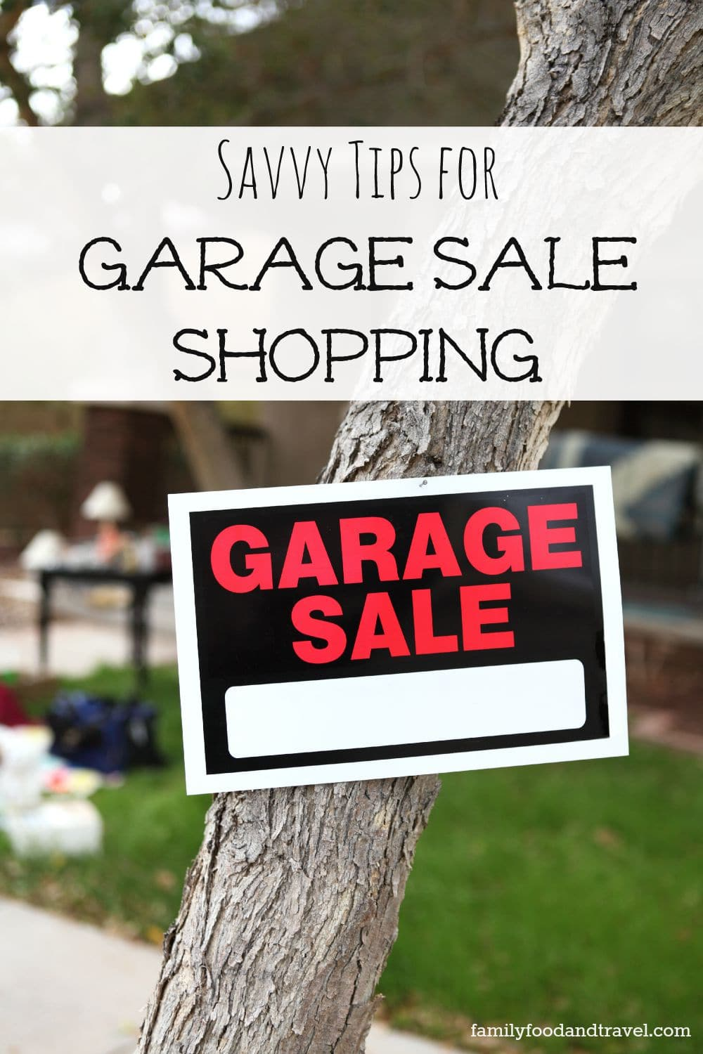 10 Savvy Tips for Garage Sale Shopping