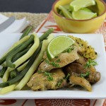 Sweet Citrus Slow Cooker Chicken Thighs
