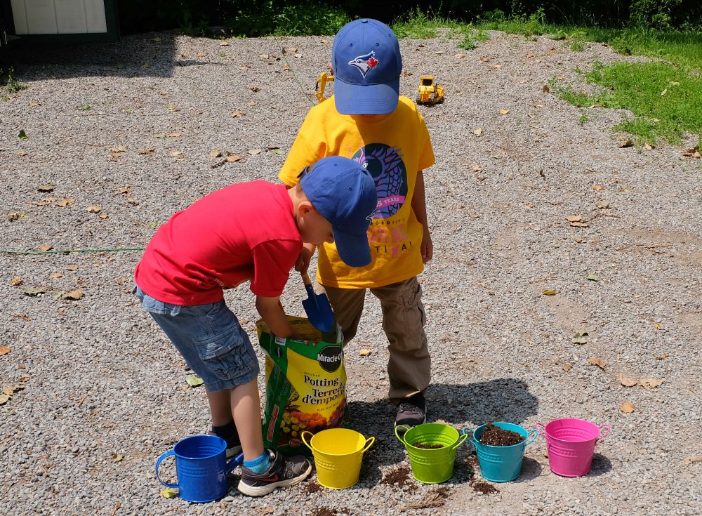 Teaching Kids About Growing Their Own Food