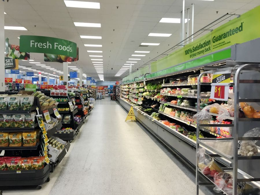 walmart fresh foods aisle
