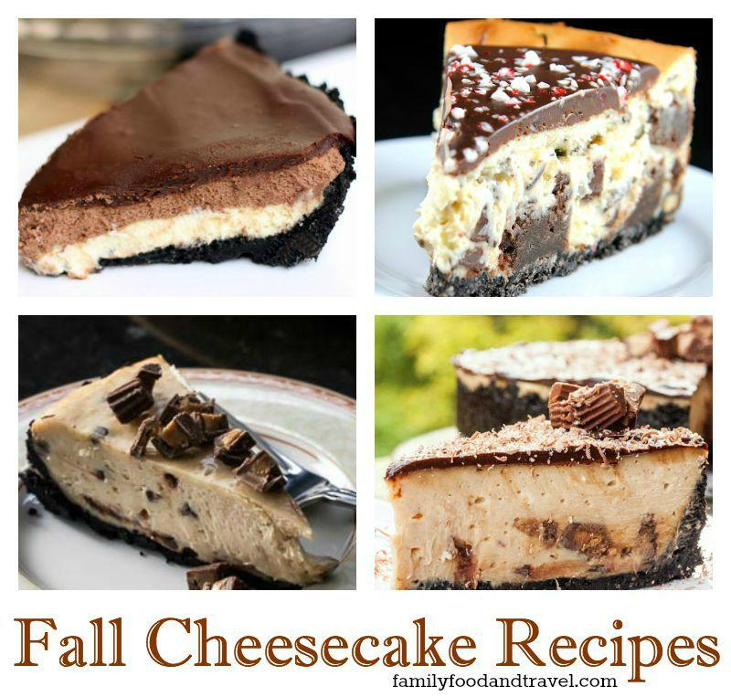 15 Fantastic Fall Cheesecake Recipes