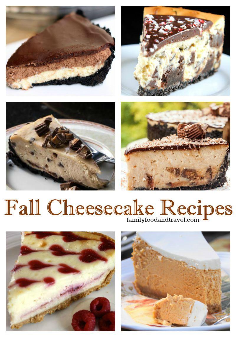 Fall Cheesecake Recipes