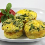 Freezable Ham Egg and Feta Muffins