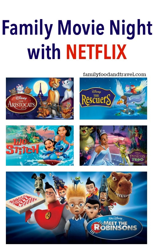 Family Movie Night with Disney on Netflix #StreamTeam