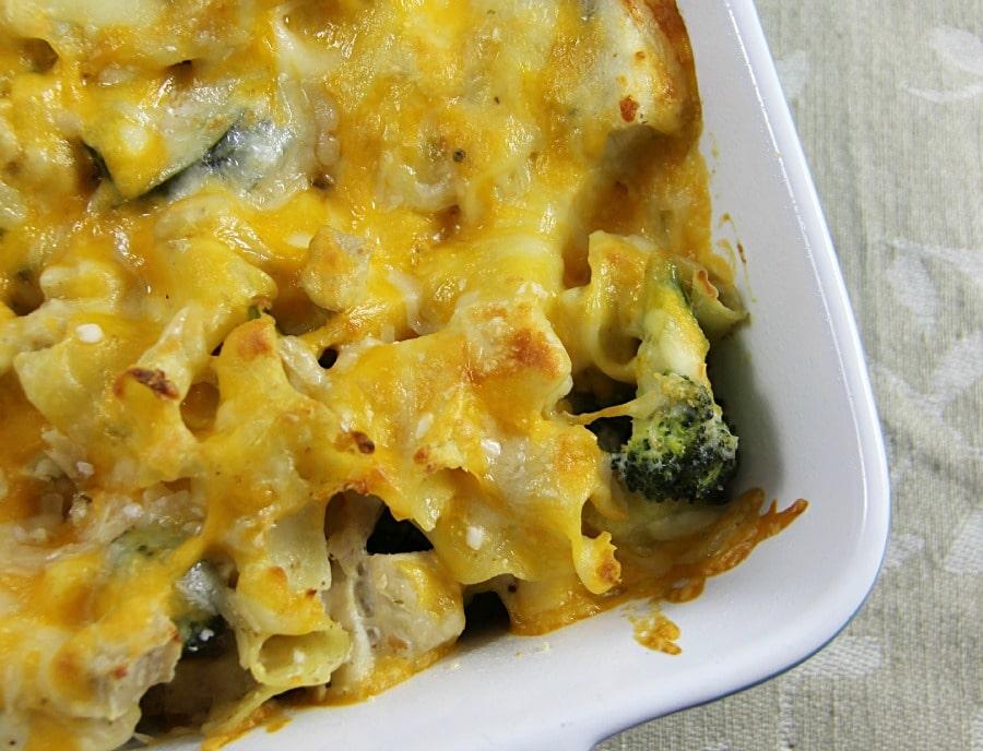 Poblano Pepper, Broccoli and Chicken Casserole