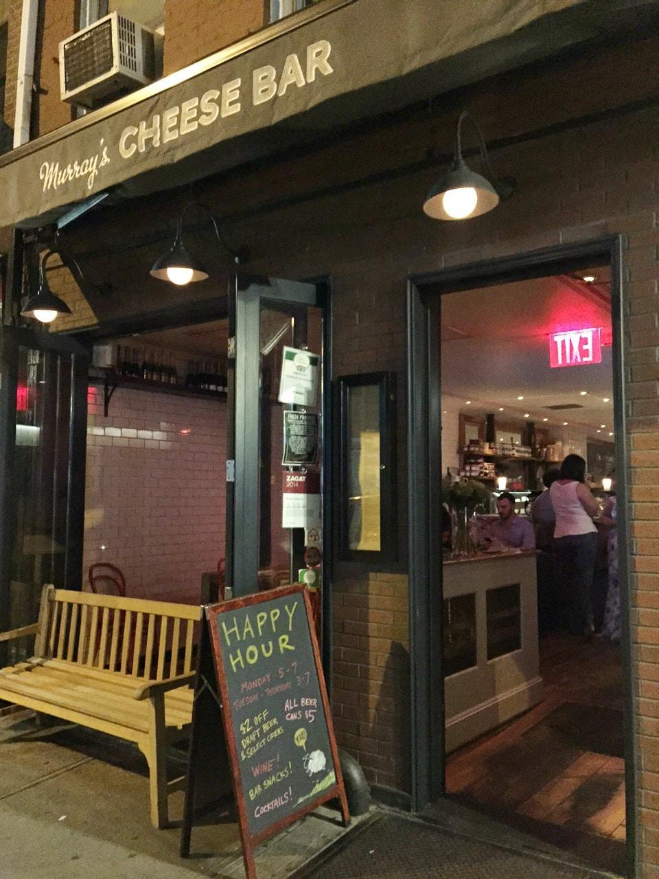 Murray's Cheese Bar Exterior