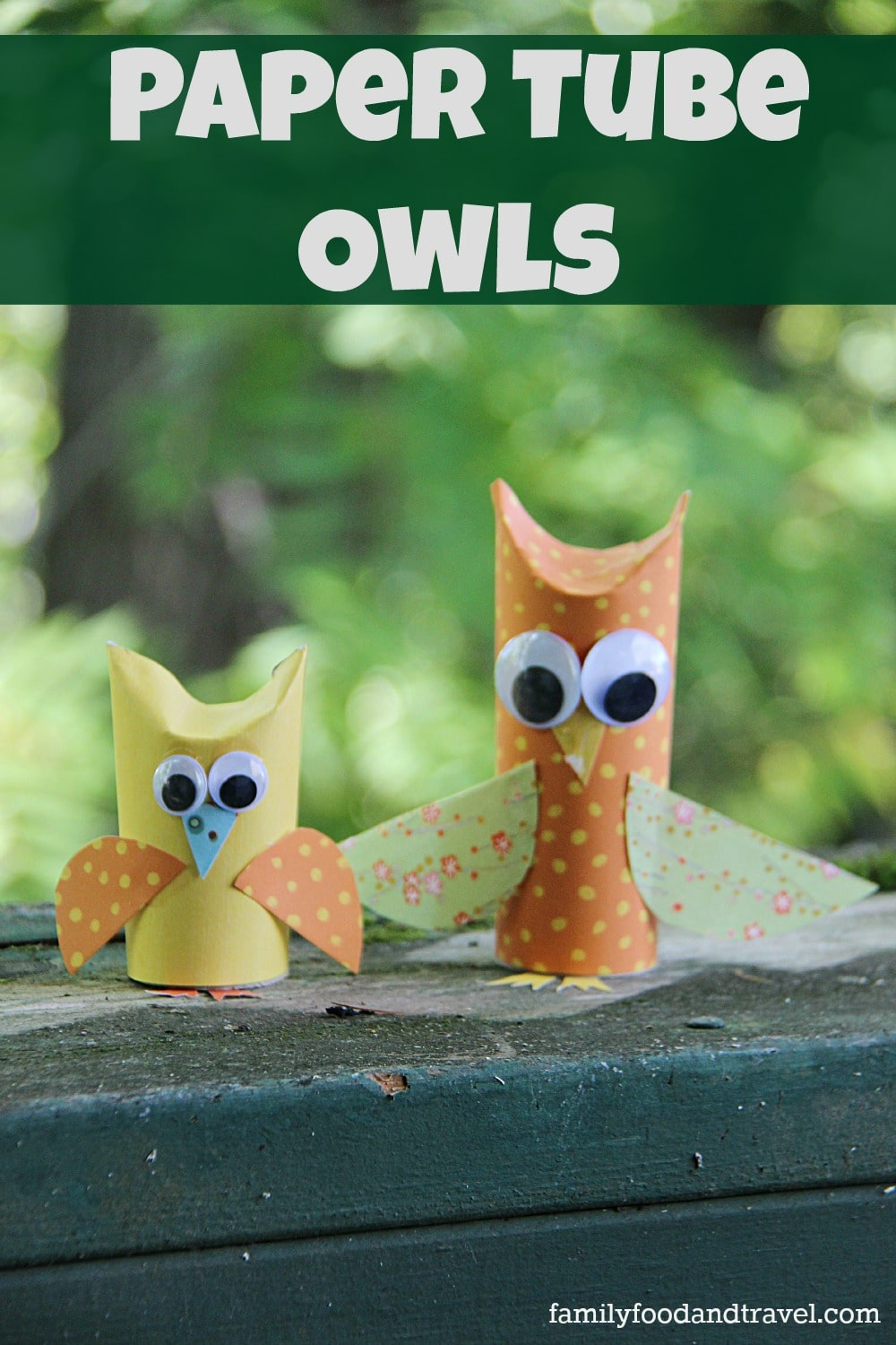 Paper Tube Owls