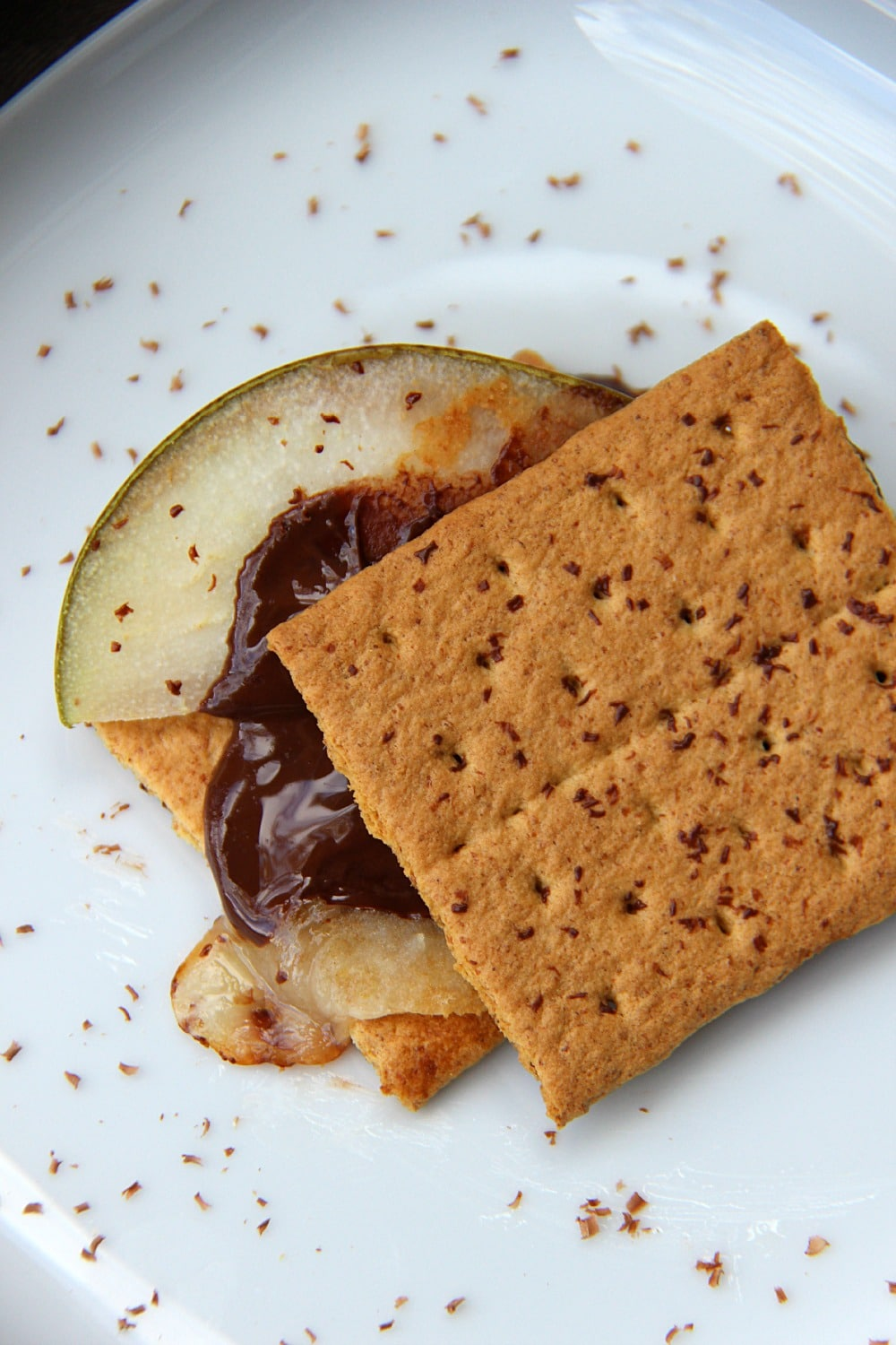 Pear and Cheese Smores