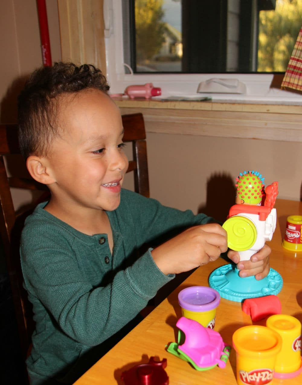 learning with play-doh