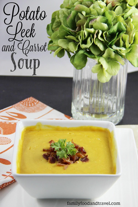 Potato Leek and Carrot Soup
