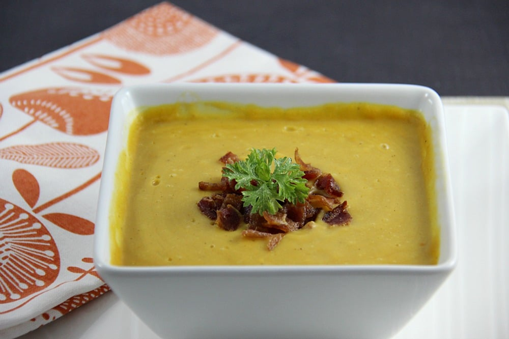 Potato, Leek and Carrot Soup