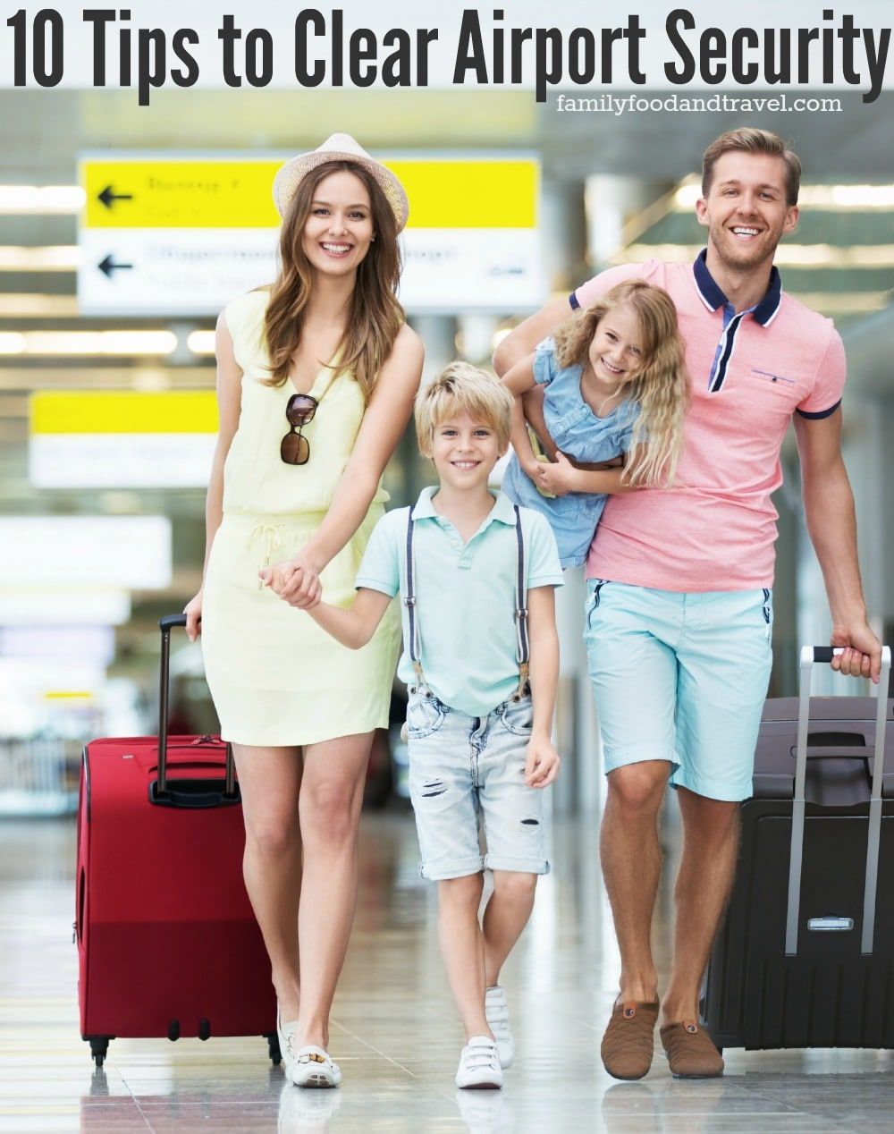 10 Tips to Clear Airport Security