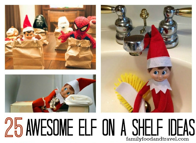 25 Awesome Elf on a Shelf Ideas