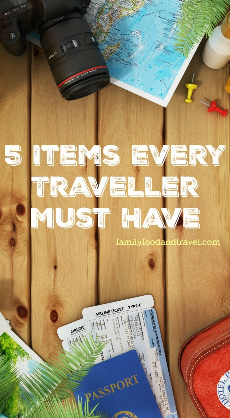 5 Items Every Traveller Must Have
