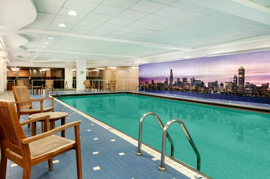 Swissotel Chicago Swimming Pool