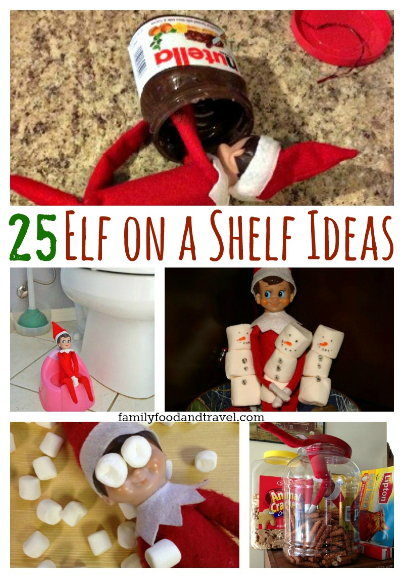 Elf on the Shelf 25 ideas
