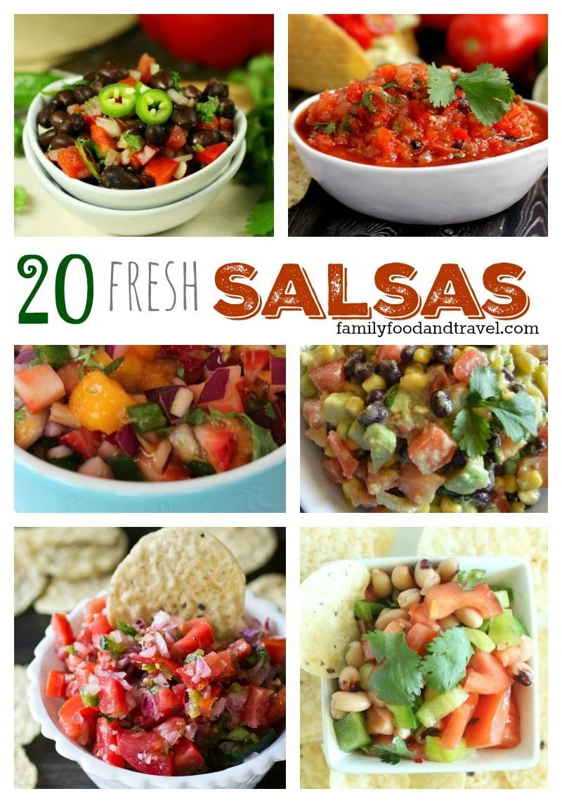 Fast and Fresh Salsas