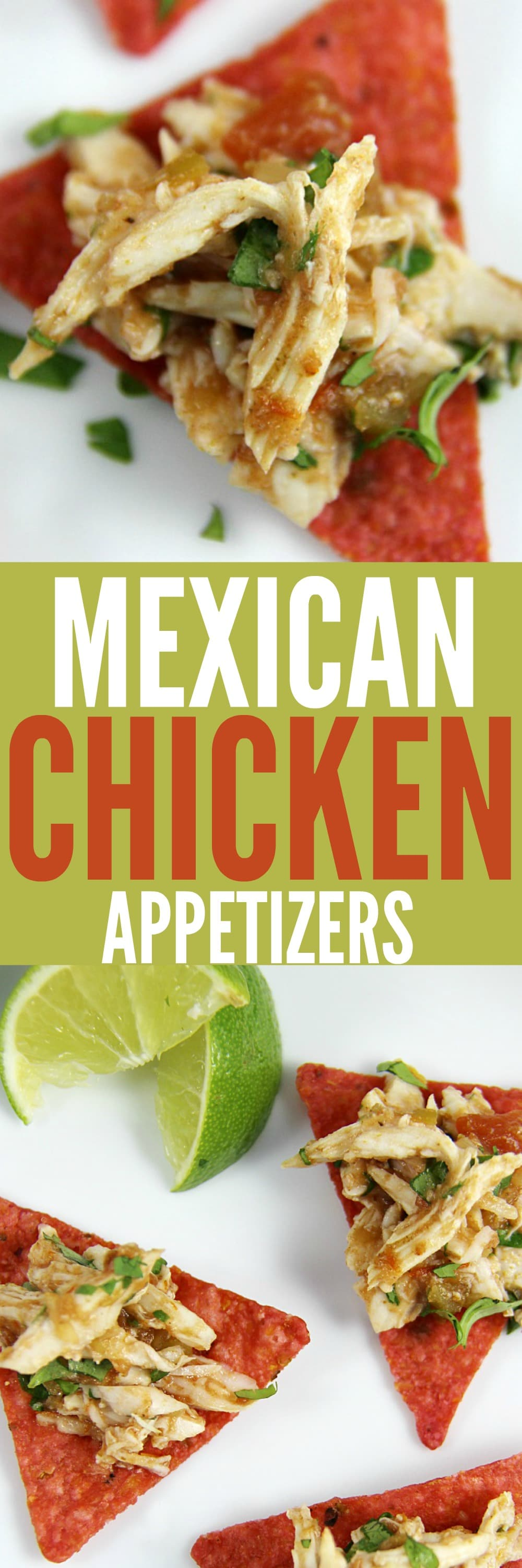 Mexican Chicken Appetizers