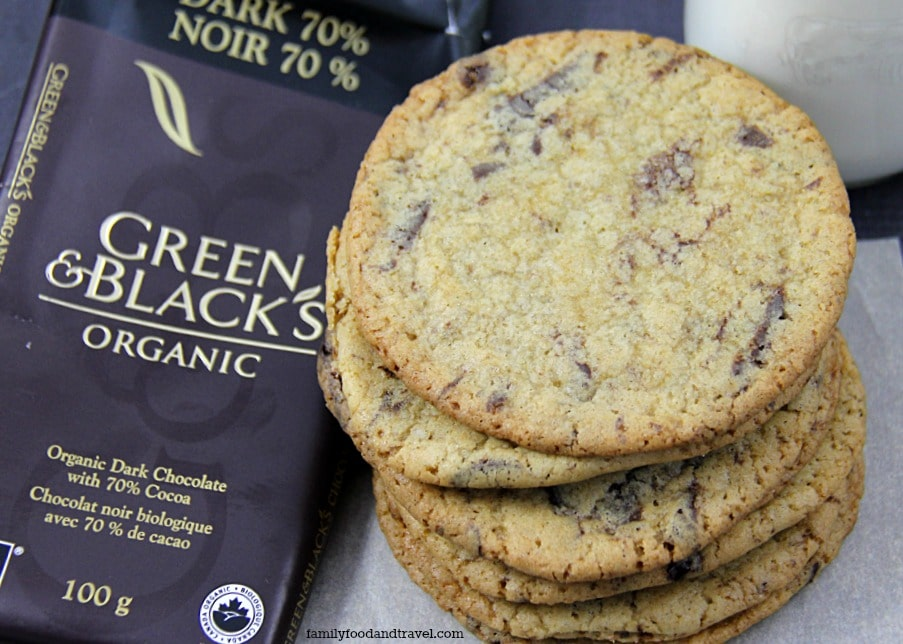 Green & Black's Salted Chocolate Chunk Cookies
