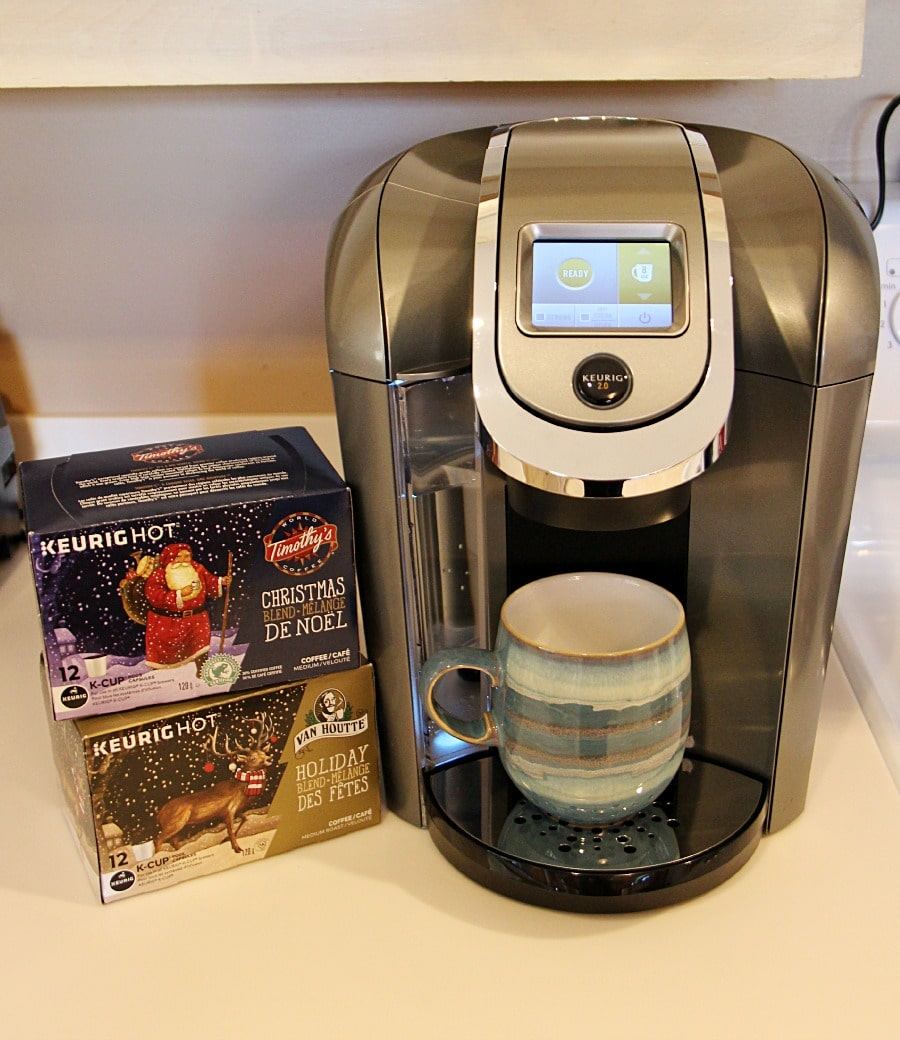 Win A Keurig Holiday Coffee Prize Pack #VanHoutteHoliday #TimothysChristmas